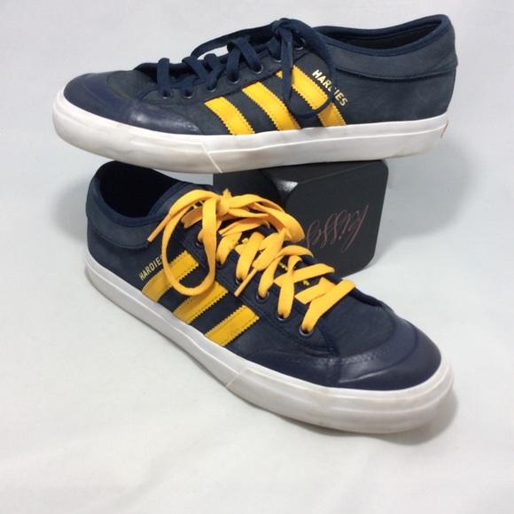 Adidas Matchcourt Hardies Leather Collegiate shoes
